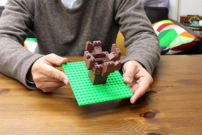 レゴの火焔型土器を見る