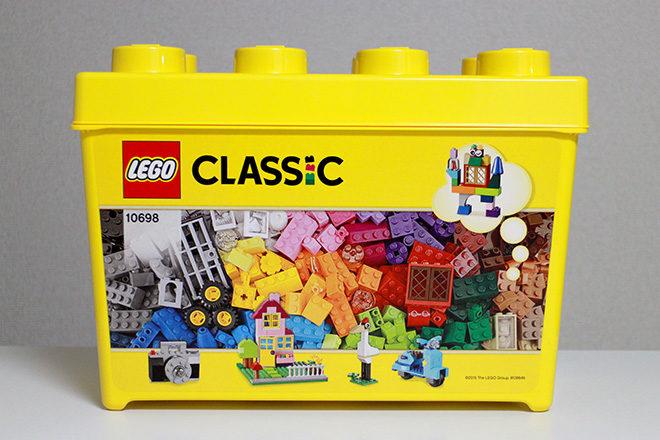 レゴ黄色のアイデアボックス